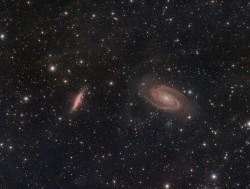 Galaxias: M81 y M82