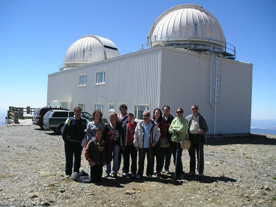 Viaje al Observatorio de Sierra Nevada en Granada: 27/06/2009