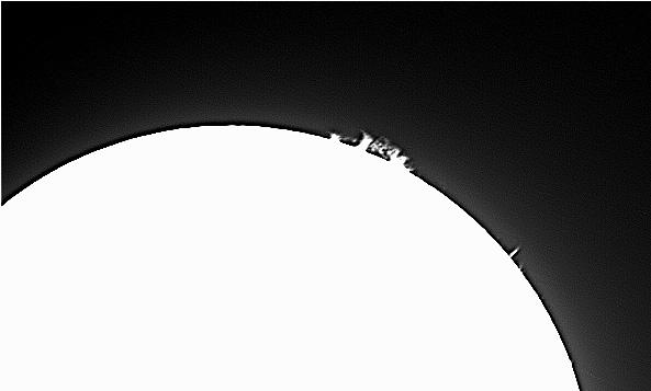 Observación Solar desde la terraza de la Fundación Paurides
