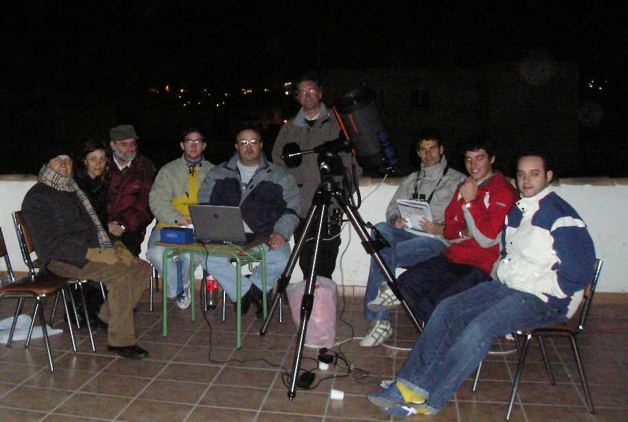 1 er. Maratón de Messier: 05/04/2008