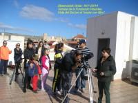 Observación de la Actividad Solar en Paurides.