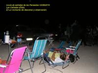 Lluvia de estrellas de Las Perseidas 2014.