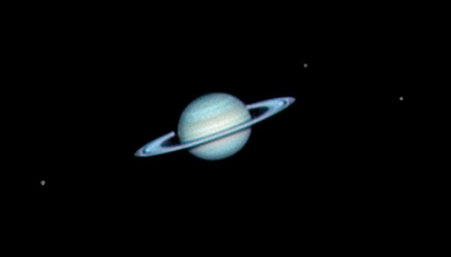 Planeta Saturno.