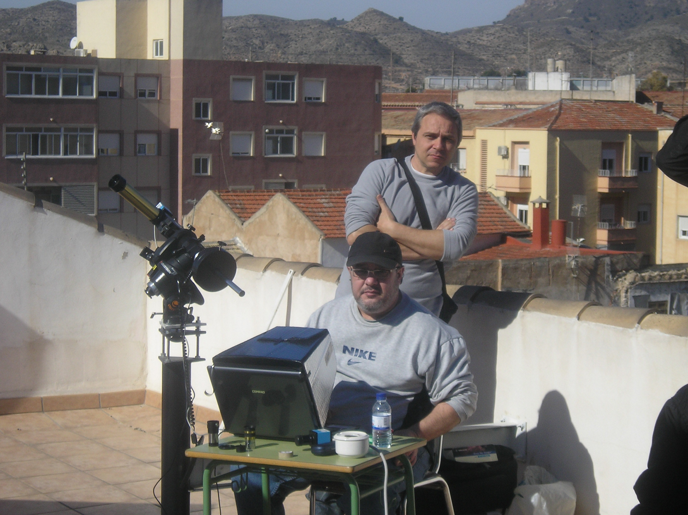 Observación de la actividad Solar