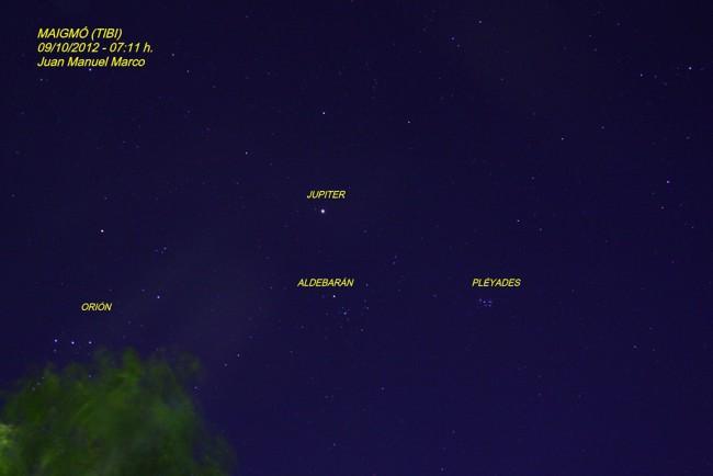Constelaciones del Invierno.