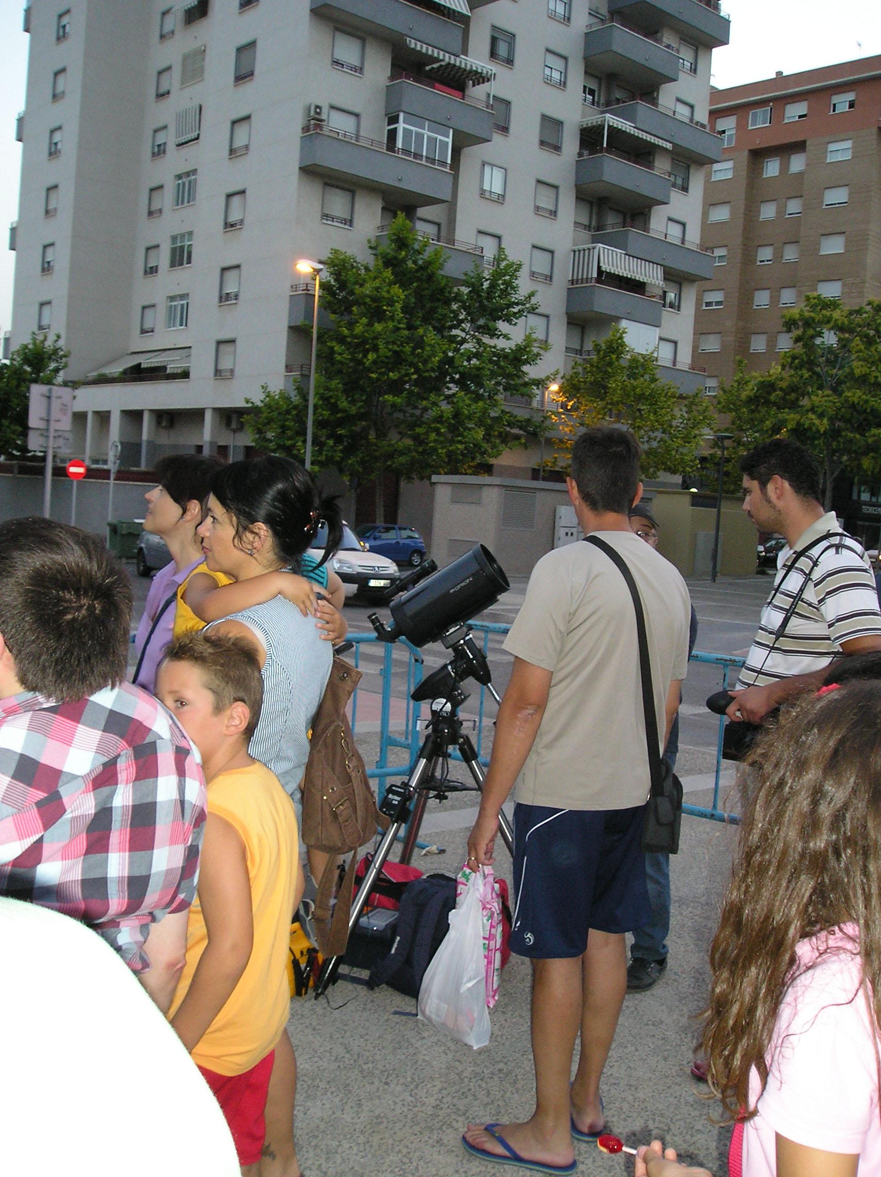 Observación Popular en la Avda. de Ronda