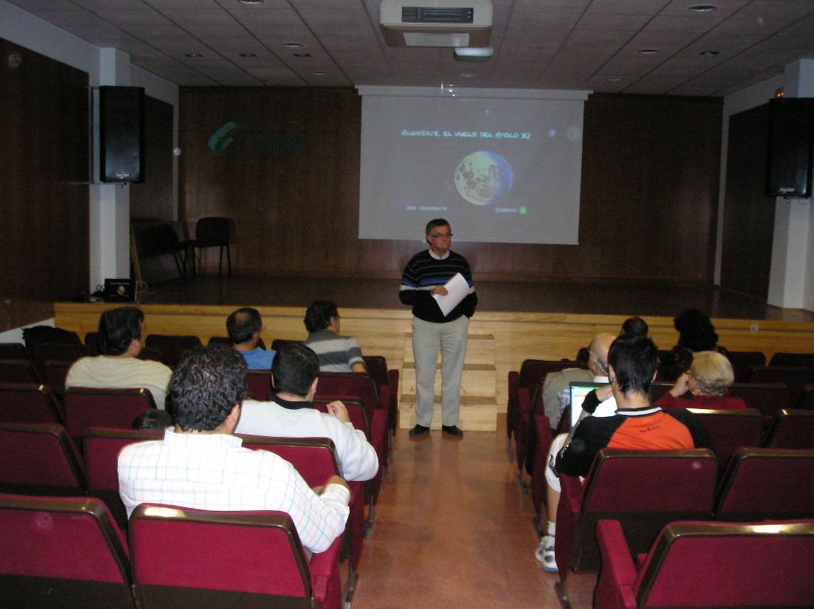 VII Ciclo de Cine y Astronomía. Año 2012.
