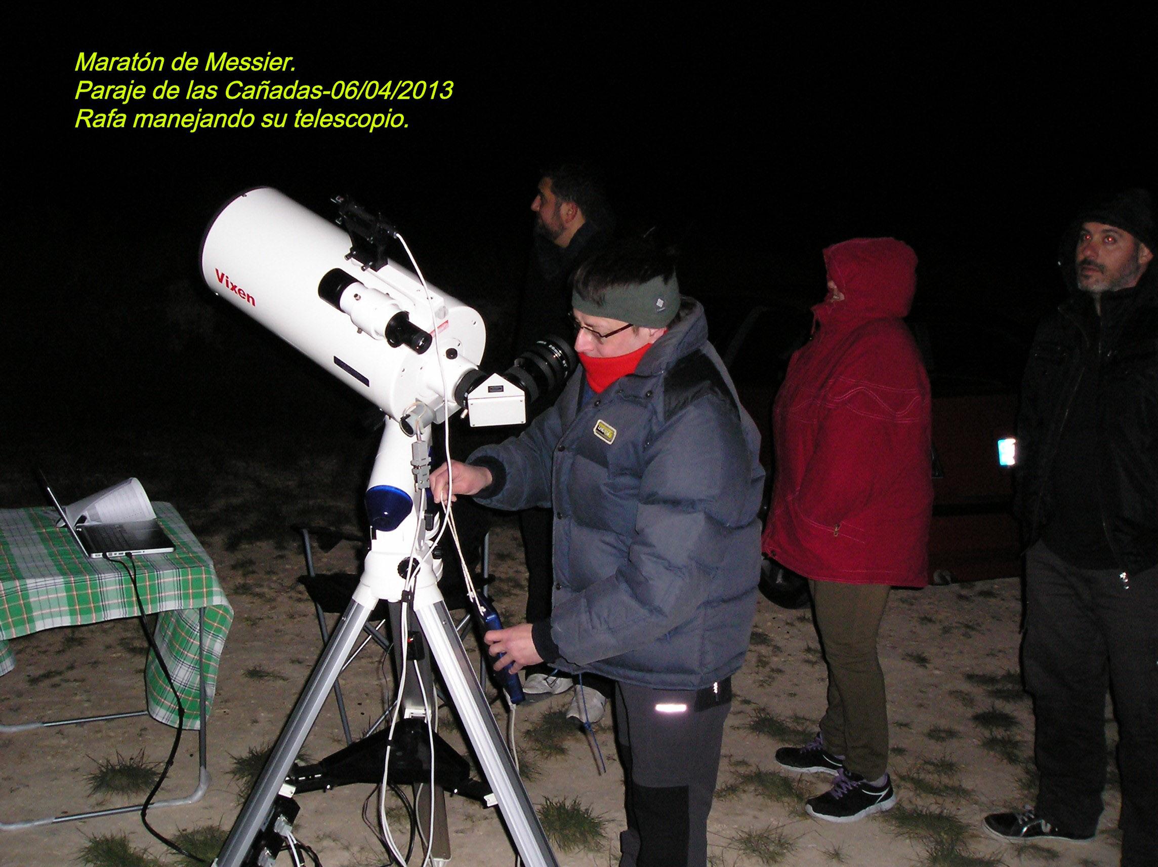 Éxito del Maratón Messier 2013