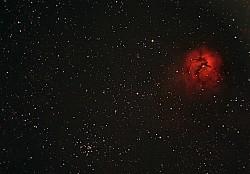 M20. Nebulosa Trífida.