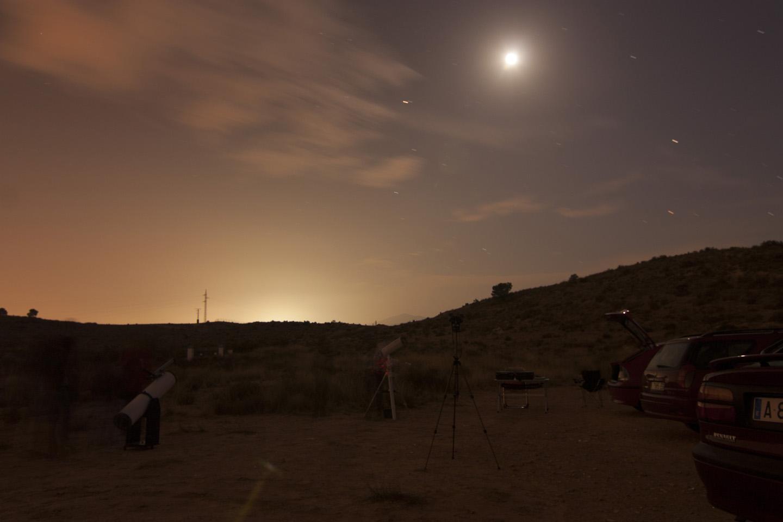 Noche de Estrellas de Octubre 2016 desde Las Cañadas