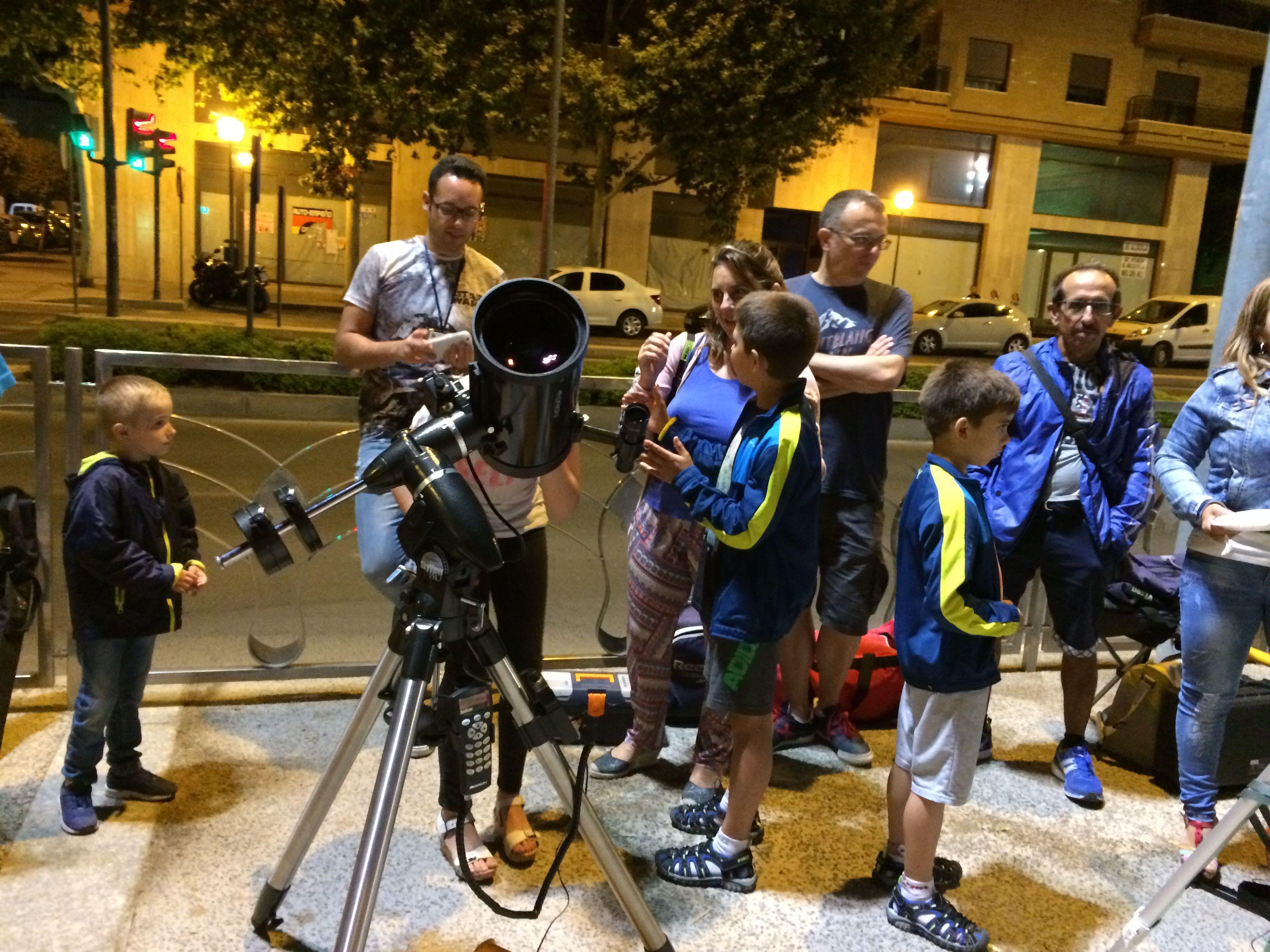 Éxito en la Observación Popular en Avda. de Ronda