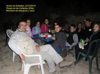 Maravillosa Noche de Estrellas en Las Cañadas de Elda. Octubre 2014.