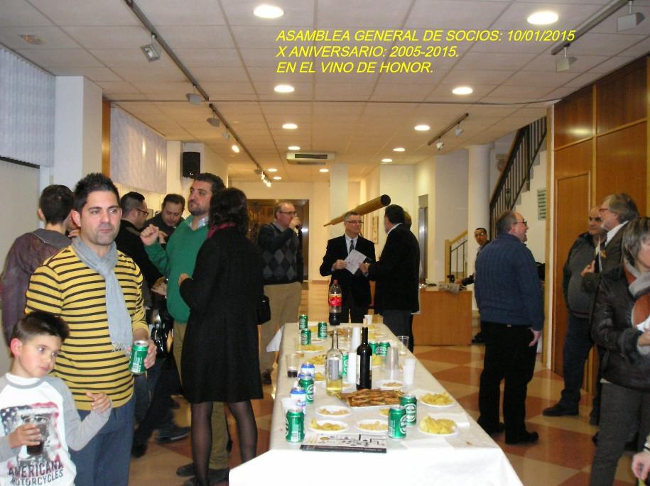 Celebración del X Aniversario de la Asociación: 2005-2015