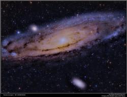 Galaxia de Andrómeda: M31