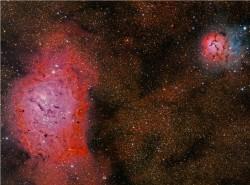 Nebulosas M8 y M20