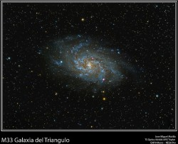 Galaxia: M33