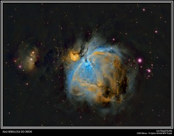 Gran Nebulosa de Orión: M42